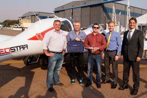 DA42 MPP GeoSTAR für Laserscanning in Afrika