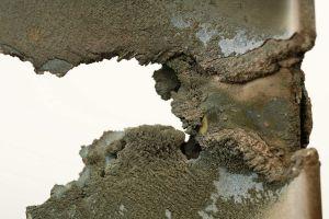Vulkanasche lässt Triebwerksschaufeln aufschmelzen