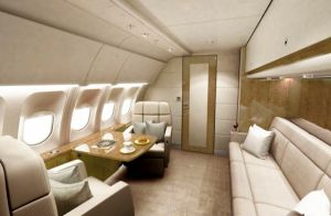 "Lufthansa Technik offeriert neues VIP-Kabinenkonzept ""Executive Shuttle"
