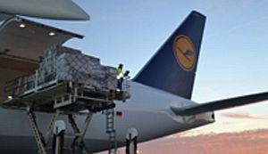 Lufthansa Cargo fliegt mit B777F zwischen Housten und Stavanger