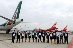 Düsseldorf wird von airberlin mit Mailand-Linate verbunden