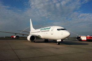 Germania steuert regelmäßig Urlaubsziele ab Rostock an