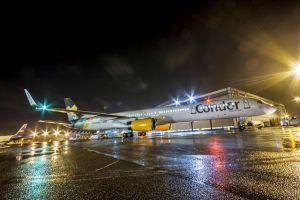 Check-in als Drive-in am Flughafen Frankfurt: Testbetrieb bei Condor