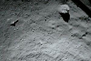 Philae erfolgreich auf dem Kometen gelandet