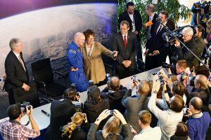 Alexander Gerst erstaunt und beeindruckt auf der Erde