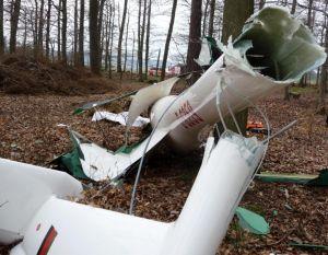 Segelflugzeug-Schleppseil löste sich während des Starts