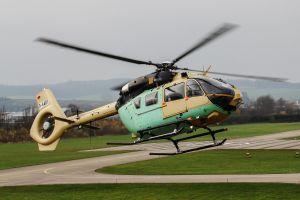 Erstflug der militärischen EC645 T2 bei Airbus Helicopters