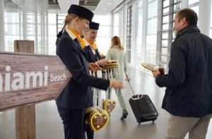 Erstflug von München nach Miami im Lufthansa-Airbus A330-300