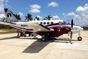Condor lässt mit Tropic Air von Cancún nach Belize fliegen