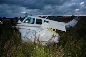 Aufprall beim Ausschweben: Beech F 33 A stürzte ab