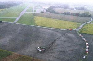 Absturz in Landshut: Ultraleichtflugzeug mit Wasser im Tank