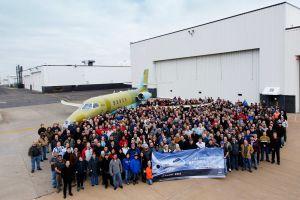 Roll-out der ersten Cessna Citation Latitude für den Markt