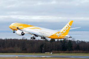Boeing liefert ersten 787 Dreamliner an Low-Cost Carrier Scoot