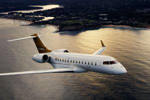 Niki Lauda tourt mit Global 6000 Bombardier Business-Jet