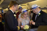 Hochzeit im Flieger nach Puerto Rico