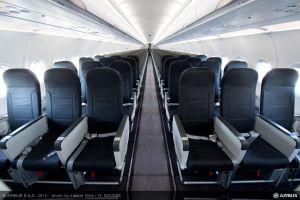 Vueling erhält ersten Airbus A320 mit Space-Flex Kabine und 186 Sitzen