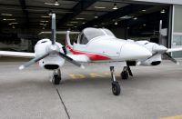 Umgerüstete DA42 Centaur als Drohne für die Schweiz