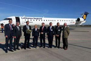 Frequenzen der Lufthansa von Rostock nach München erhöht