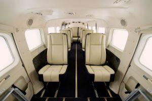 Cessna Caravan zum 30. mit neuem Interieur