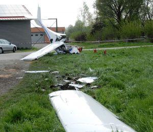 Ultraleichtflugzeug prallte nach Start in Bad Saulgau auf