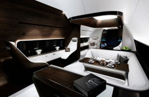 Mercedes-Benz Style für Luxus bei Flugzeug-Innengestaltung
