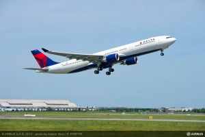 Airbus liefert erste A330 242t MTOW an Delta Airlines