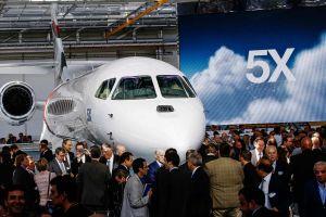 Falcon 5X: Snecma bringt neuen Jet auf hohe Reichweite