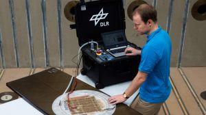 DLR entwickelt Verfahren zur Reparatur von FVK-Teilen
