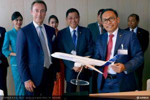 30 Airbus A350 XWB-Flugzeuge für Garuda Indonesia