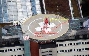 Unfall mit Heckrotor des DRF-Hubschraubers in Stuttgart
