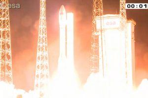Sentinel-2A erfolgreich ins All gestartet