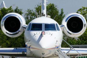 High Altitude Flugzeug dem Monsun auf der Schliche