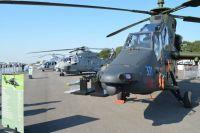 Vier Hubschrauber Tiger für den Einsatz in Afghanistan