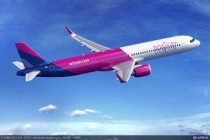 Wizz Air wächst mit 110 A321neo Flugzeugen in Europa