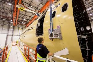 Airbus beginnt Bau der A350-1000 XWB