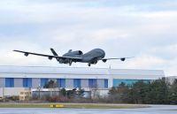 Sensor-Drohne Euro Hawk®: Erster Testflug in Manching erfolgreich