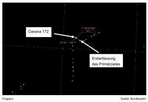 Schwere Störung im Luftraum durch Segelflugzeug