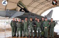 Ausbildungs-Pilot mit 1.000 Flugstunden auf dem Eurofighter