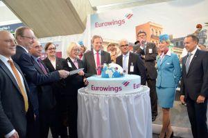 A330 der Eurowings startet ab Köln/Bonn in die Langstrecke