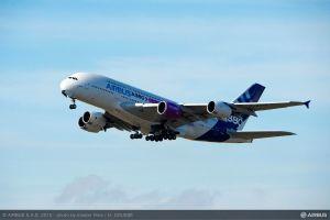 Trent XWB-97 für Airbus A350-1000 erstmals im Flug getestet
