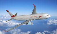 Boeing 767 mit neuer Langstrecken-Kabine bei Austrian Airlines