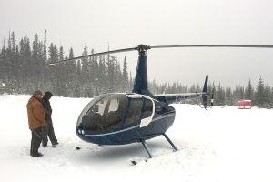 Robinson R66 besteht Tests im Schneeflug