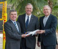Lufthansa fliegt deutsche Olympiamannschaft nach Sotschi