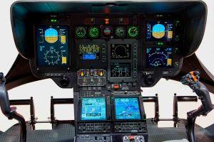 EC135 T2+ vom Universitätsspital Genf mit neuer Avionik