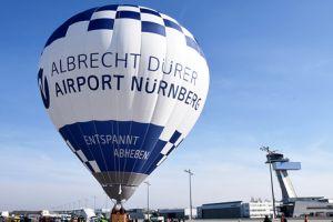 Fuchsjagd per Heißluftballon am Flughafen Nürnberg