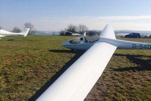 Segelflugzeuge starten wieder über Idar Oberstein