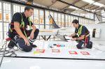 Fliegen wie Fische: Lufthansa testet Haifischhaut