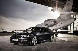 VIP-Service am Flughafen Wien im BMW 7er