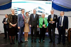 Raumfahrtzentrum der OHB in Oberpfaffenhofen eröffnet