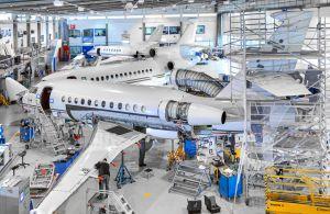 C-Checks an Falcon 2000 und Falcon 900B gleichzeitig